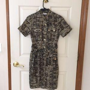 Calvin Klein shirt dress size 2 NWT